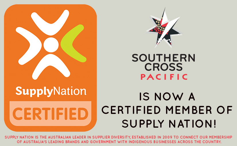 Southern Cross Pacific - a Certified Member of Supply Nation